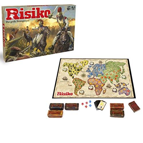 Hasbro - Risiko, DAS Strategiespiel, Brettspiel für die ganze Familie, spannendes Gesellschaftsspiel, für Kinder & Erwachsene, der Klassiker beim Spieleabend