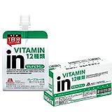 inゼリー マルチビタミン グレープフルーツ味 (180g×6個) 栄養補助ゼリー 10秒チャージ 1日分のビタミン12種類配合 栄養機能食品(ビオチン)