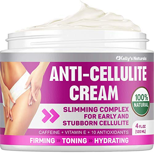 Cellulite Cream for 100% Complete Cellulite Removal - Made In USA - Hot Cream with Caffeine Cellulite Treatment - Slimming, Firming & Tightening - Works for Anti Cellulite Oil Massage & Workout Sweat 1