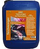 MIBO Teichreiniger auf Naturbasis 5000ml Teichsauger Teichschlammentferner Teichklärer
