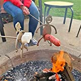 Steel Hot Dog Roasters, Women/Men Shaped Stainless Steel Camp Fire Roasting Stick, Funny Metal Craft...