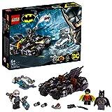 LEGO Super Heroes  -  Gioco per Bambini Battaglia sul Bat ciclo con Mr. Freeze, Multicolore, 6251453