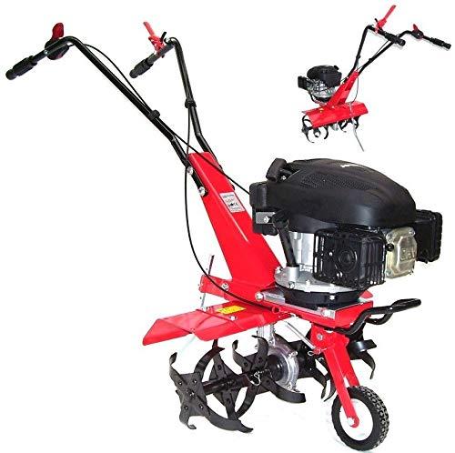 Benzin Gartenfräse Gartenhacke 55752 Motorhacke 600 Bodenfräse Kultivator Fräse, Fräse Arbeitsbreite 36cm/60cm, selbstantrieb AWZ
