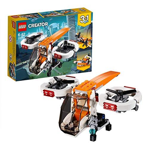 LEGO- Creator Drone Esploratore, Multicolore, 31071
