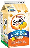 Pepperidge Farm Goldfish Baked with Whole Grain Cheddar Crackers, 30 Ounce Carton, 6 Count