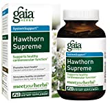 Gaia Herbs Hawthorn Supreme, Vegan Liquid Capsules, 60 Count - Promotes Heart Health & Stimulates Healthy Circulation, Organic Hawthorn Berry, Leaf & Flower Extract