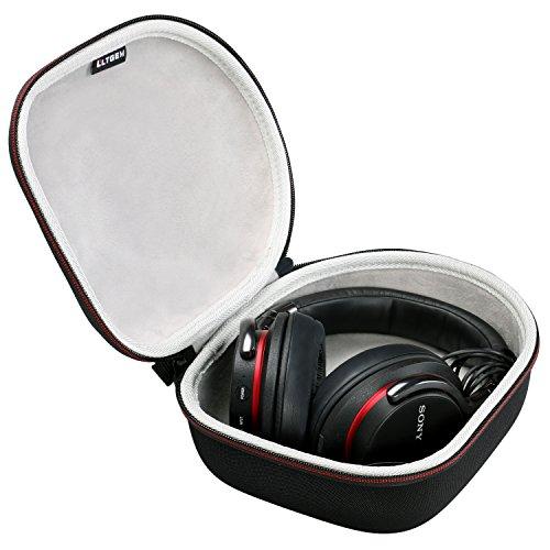 LTGEM Custodia Rigida per Cuffie Travel Bag per Sony, Audio-Technica, Xo Vision, Behringer, Beats, Photive, Philips, Bose, Maxell, Panasonic e di Pi-Nero