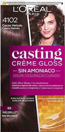 L'Oreal Paris Casting Crème Gloss Baño De Color 4102 Cacao Helado 240 g