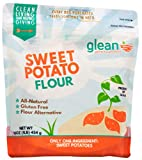 Glean Sweet Potato Goodness | Sweet Potato Flour and Superfood Powder | Paleo, Vegan, No Added Sugar | 16 oz (1 lb)
