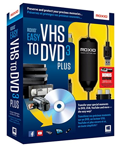 Roxio Easy VHS to DVD 3 Plus Video...