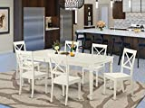 7 PC Dining room set for 6-Dinette Table and 6 Dining Chairs