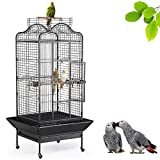Yaheetech Grande Cage Oiseaux pour Perroquet Ara Gris du Gabon...