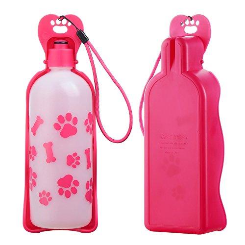 Anpet 犬給水ボトル ペット専用ウォーターボトル カップ付き水飲み 携帯給水器 お散歩・ランニング・アウト...