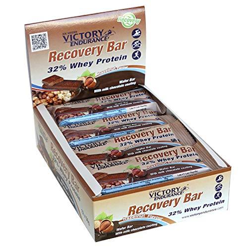 Victory Endurance Recovery Bar Geschmack Avellana Erholungsriegel mit 32% Protein (12x50g)