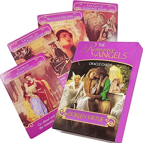 GZXINKE Romance Angel Tarot Love Oracle Cards Deck for...