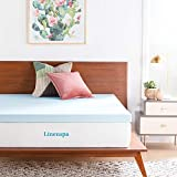 LINENSPA 3 Inch Gel Infused Memory Foam Full Mattress Topper