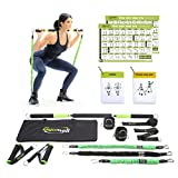 Gymwell Portable Resistance Workout Set, Total Body Workout Equipment for Home, Office or Outdoor with 3 Sets of Resistance Bands (Full Gym2.0)