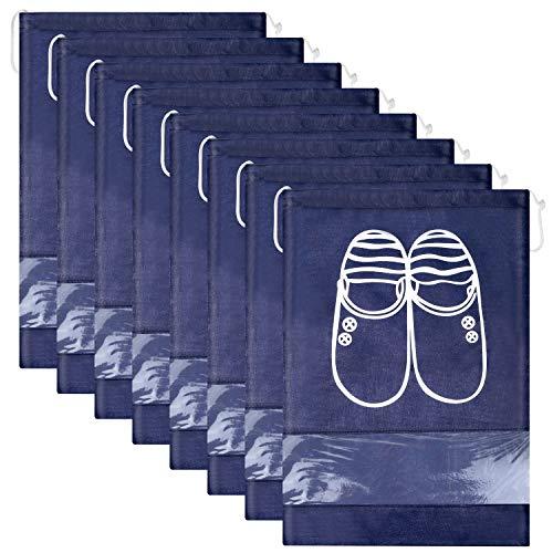 Lot de 12 Travel Sacs à Chaussures de Voyage, Sacs de Voyage Respirants...