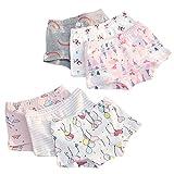 Hey~Yo Boxer Shorts Petite Fille Coton Designer Tronc Enfant Bébé en Bas Âge Doux Respirant sous-Vêtements Slips de 2 Ans à 12 Ans (2-3 Ans)