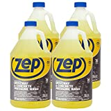 Zep Driveway and Concrete Pressure Wash Cleaner Concentrate 128 Ounce ZUBMC128 (Case of 4) Pro Strength