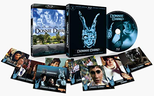 Donnie Darko BD 2001 Director´s Cut con Funda 3D Edición Limitada y Numerada con 8 Postales [Blu-ray]