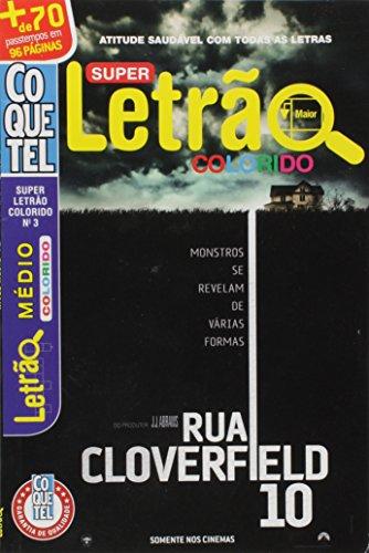 Coquetel. Super Letrão Colorido - Nível Médio. Livro 3