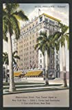 Rice Hotel Houston's Welcome to the World B F Orr TX postcard 1930s