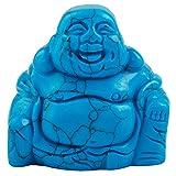 mookaitedecor Howlite Turquoise Bleu Statuette Bouddha Rieur Decoration,Figurine...