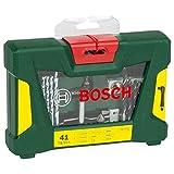 Bosch V-Line - Maletín de 41 unidades para taladrar y atornillar