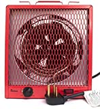 Dr. Infrared Heater DR-988A Garage Shop 208/240V, 4800/5600W Heater with 6-30R Plug