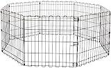 AmazonBasics Enclos pliant en métal pour chiens et animaux domestiques 152,4 x...