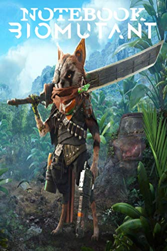 Biomutant NoteBook: Scorecard, Scorecard for Scoring Your Games Biomutant, 100 softcover pages for everything about the game Biomutant you want to write result and remember ..