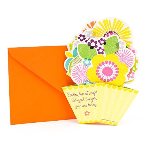 Hallmark–Tarjeta de felicitación de cumpleaños para tarjeta de felicitación 43, Pop-Up Flowers