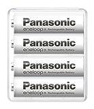 【Amazon.co.jp限定】パナソニック エネループ スタンダードモデル [最小容量1900mAh/繰り返し2100回] 日本製 単3形充電池 4本パック BK-3MCC/4SA