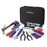 WORKPRO Kit d'Outils avec Sac de Rangement pour Usage Domestique ou du...