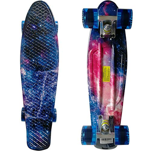 Rimable Complete 22 Inches Skateboard GALAXY6