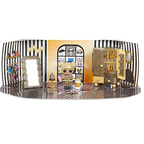 Image 1 - MGA- Meubles L.O.L Boutique avec la poupée Queen Bee et 10+ Surprises Toy, 564119E7C, Multicolore