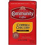 Community Coffee Coffee & Chicory Medium Dark Roast - Premium Ground Coffee - 16 Oz Bag, Coffee & Chicory, 16 Oz