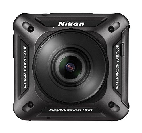 Nikon 防水アクションカメラ KeyMission 360 BK ブラック
