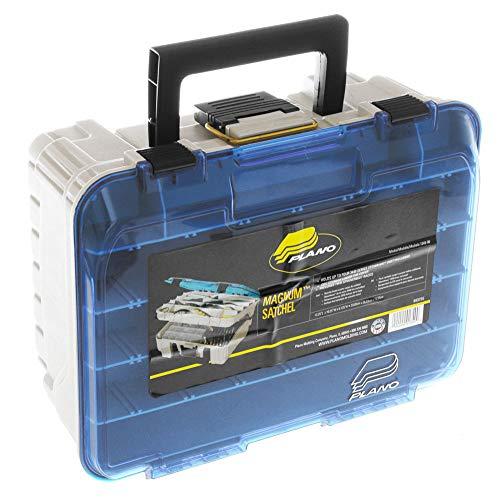 Plano 1349-00 Magnum 3449 - Cassetta per attrezzi a due livelli, colore: arenaria/blu, taglia unica