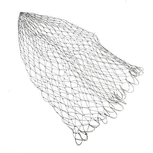 VGEBY Rete da Pesca Resistente, Rete da Guadino Rete a Mosca Diametro di Ricambio 40/50 / 60cm(60)
