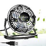 VGUARD Mini Ventilateur USB Fan, 360 Degrés Rotation, Portable de 4 Pouces,...