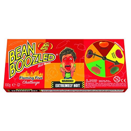 Jelly Belly frijol boozled llameante cinco spinner box - fri