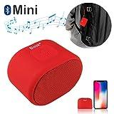 Beisk, Mini Altavoz Bluetooth Portátil, con 8-10 Horas de Reproducción, Sonido...