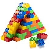 150 Piece Classic Big Building Blocks Compatible with All Major Brands STEM Toy Large Building...