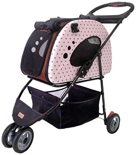 Petzip FS1211-P Mochi Carrier/Stroller, Pink,...