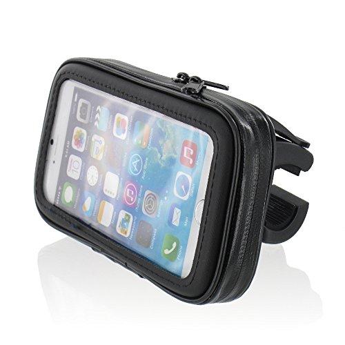 FM24 Motorrad Fahrrad Handyhalterung Halterung Tasche Hülle Wasserfest für Smartphone Handy Navi GPS bis max. 150 x 80 mm