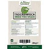 AniForte Trockenfisch für Hunde 200g – Natürlicher Snack, Belohnung oder als Leckerlie für alle Hunderassen, Fischsnack luftgetrocknet, zur Ergänzung zum Hundefutter, Dörrfleisch, im kleinen wiederverschließbaren Eimer - 3