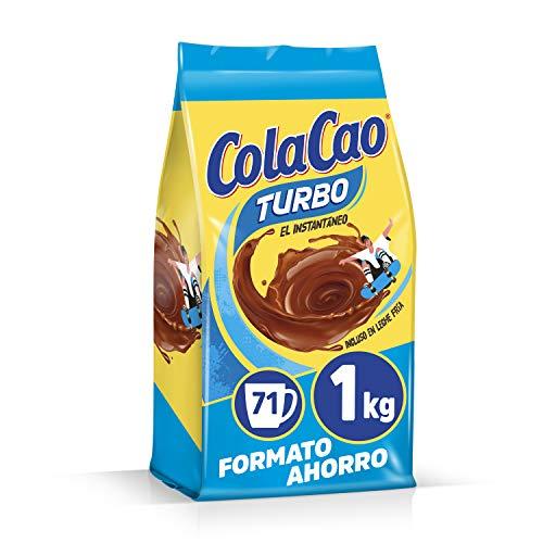 ColaCao Turbo: Cacao Instantáneo y sin Grumitos - 1kg