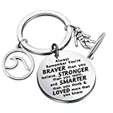 Surfing Sea Keychain Surfing Lover Gifts Hawaii Circle Beach Jewelry for Your Girlfriend or Women Gifts (Keychain)
